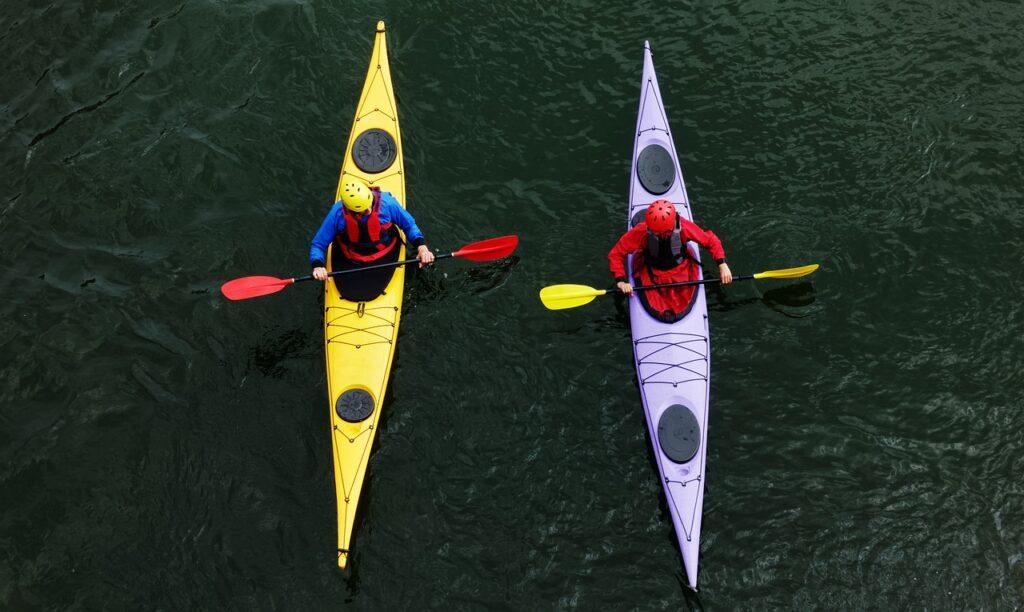 kayak, canoe, kayaking